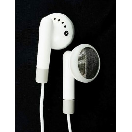 White 2.5mm Headphones Earphones for MP3 MP4 Phone
