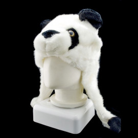 Panda Animal Funny Mascot Plush Costume Mask Hat Cap