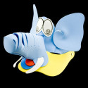Elephant New Adult Toddler Foam Fancy Hat Party Costume
