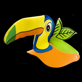 Toucan Bird Adult Toddler Fancy Dress Hat Party Costume