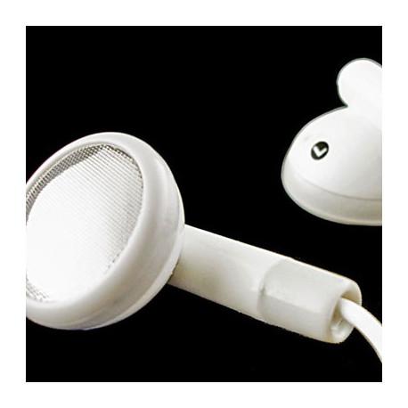 White 3.5mm Earbuds Earphones Headphones for Apple iPod