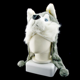 Timberwolves Wolf Funny Mascot New Costume Mask Hat Cap