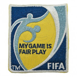 FIFA Football / Soccer My Game Is Fair Play Logo Patch / Bordado