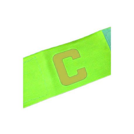 Football Games Gear Adjustable Captain Armband (YELLOW) Golden C