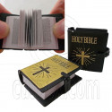 """Real Text Inside Holy Bible 1:6 Scale for Barbie Monster High 18"""" American Doll"""