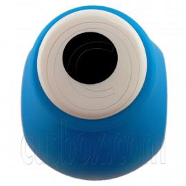 "Circle Dot Paper Edge Die Cut Scrap Craft Punch Scrapbooking 0.7cm 1/4"""