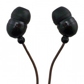Black In-Ear 3.5mm 3.5 mm 2M Meter Long Cable Wire Headphones for Apple iPod MP3