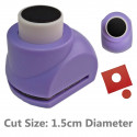Circle Hole Round Paper Edge Craft Punch Scrapbooking Die Cut Cutter 1.5cm
