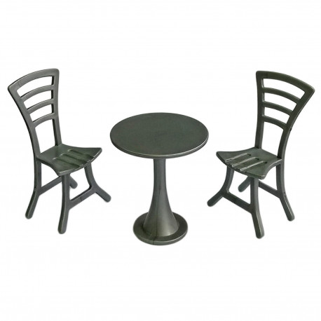 Outdoor Garden Tea Coffee Table Chairs Set 1 12 Doll S House