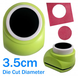 Circle Hole Round Paper Edge Craft Punch Scrapbooking Die Cut Cutter 3.5cm