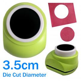 Circle Hole Round Paper Edge Craft Punch Scrapbooking Die Cut Cutter 3.5cm