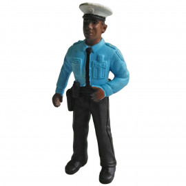 Police Officer Policeman Security Guard 1:30 G Scale Train Model Figure Figurine