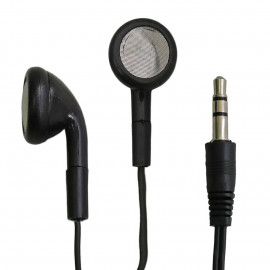 Black 3.5mm Stereo Audio Jack Earbuds Headphones Earphones for MP3 Players