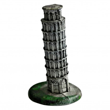 The Leaning Tower Of Pisa Collectibles Educational Building Figurine 5cm Tall