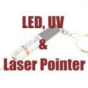 LED, UV & Laser Pointer